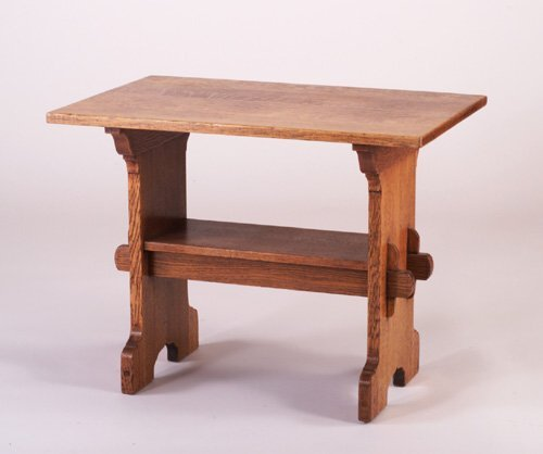 480: GUSTAV STICKLEY Early Bungalow table