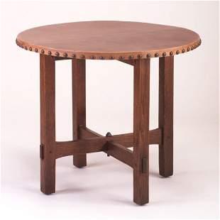 GUSTAV STICKLEY Lamp Table