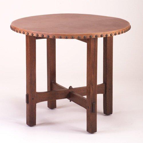 481: GUSTAV STICKLEY Lamp Table