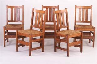 L. & J.G. STICKLEY Dining Chairs