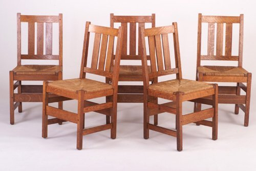 486: L. & J.G. STICKLEY Dining Chairs