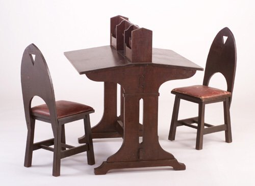 492: LIMBERT Partner's Desk and Chairs