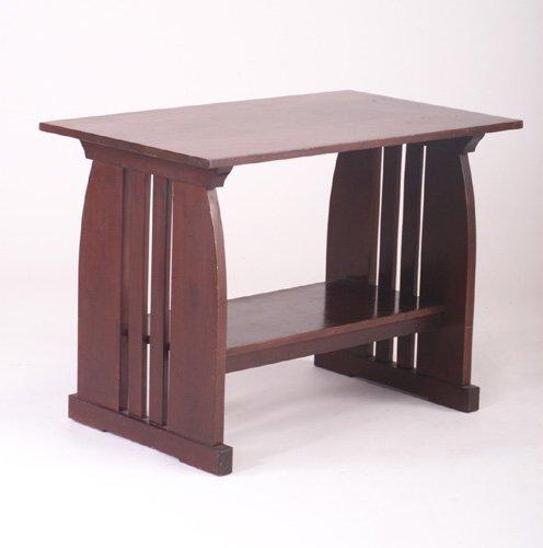 493: ONONDAGA SHOPS Library Table no. 518