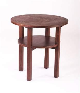 L. & J.G. STICKLEY Tea table
