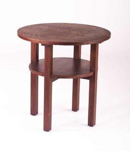 498: L. & J.G. STICKLEY Tea table