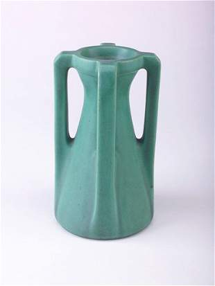 TECO Corseted vase with four angular buttressed hand
