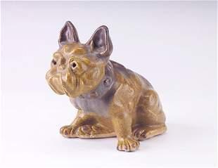 FULPER Rare, early and exceptional bulldog doorstop