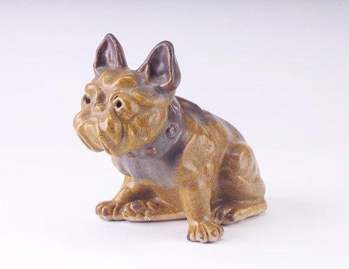 11: FULPER Rare, early and exceptional bulldog doorstop