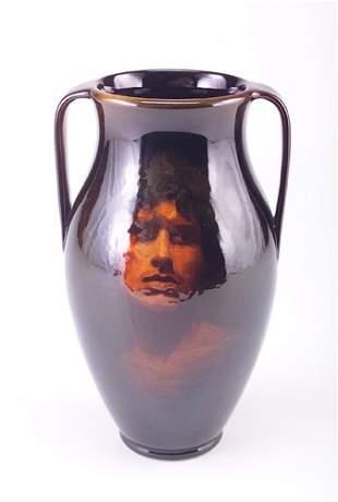 ROOKWOOD Fine Standard glaze urn beautifully paint