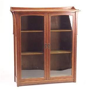 LIFETIME Puritan line two-door bookcase with singl