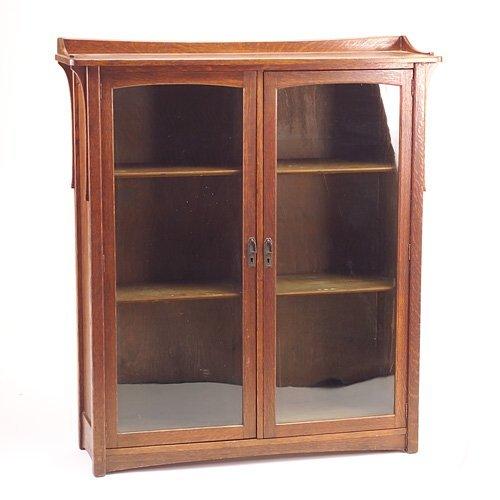 650: LIFETIME Puritan line two-door bookcase with singl