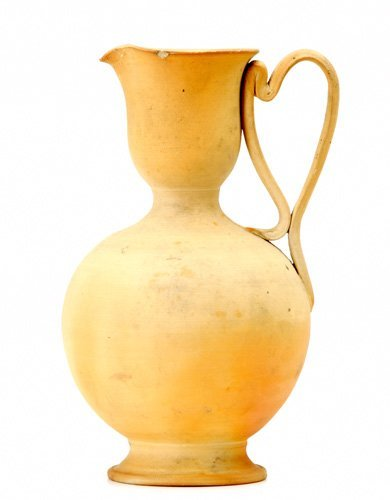 3: GEORGE OHR/SUSAN FRACKELTON Rare bisque-fired bulbou