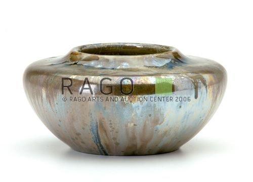 11: ROBERTSON/LOS ANGELES Lustred Crystalline Vase