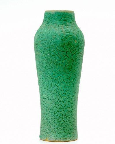 14: ALBERT VALENTIEN Baluster vase embossed with styliz
