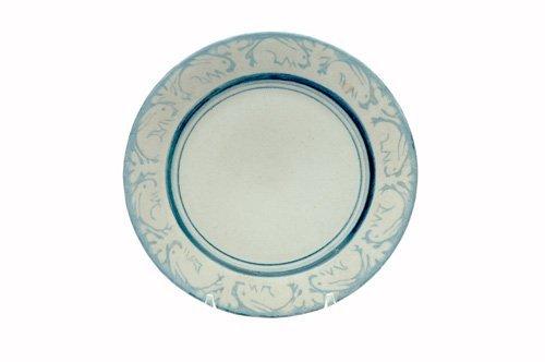 461: DEDHAM Crackleware breakfast plate no. 2 in the Cl