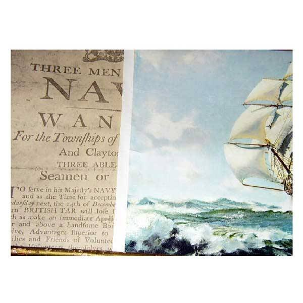 39: Fine Art - A reproduction map from the National Mar