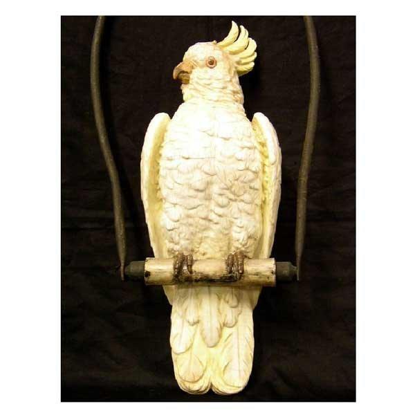 117: Ceramics - A continental porcelain model of a parr