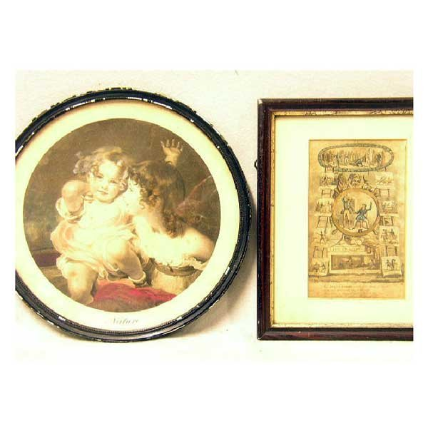 """805: Art - A Victorian print from """"Life in London"""" depi"""