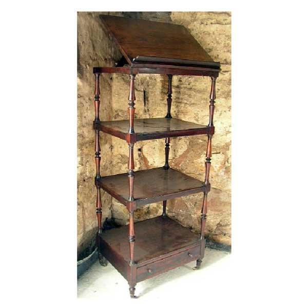 1341: Furnishings - A nineteenth century rosewood whatn