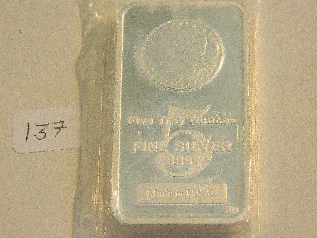 Silver Bar, Morgan Design