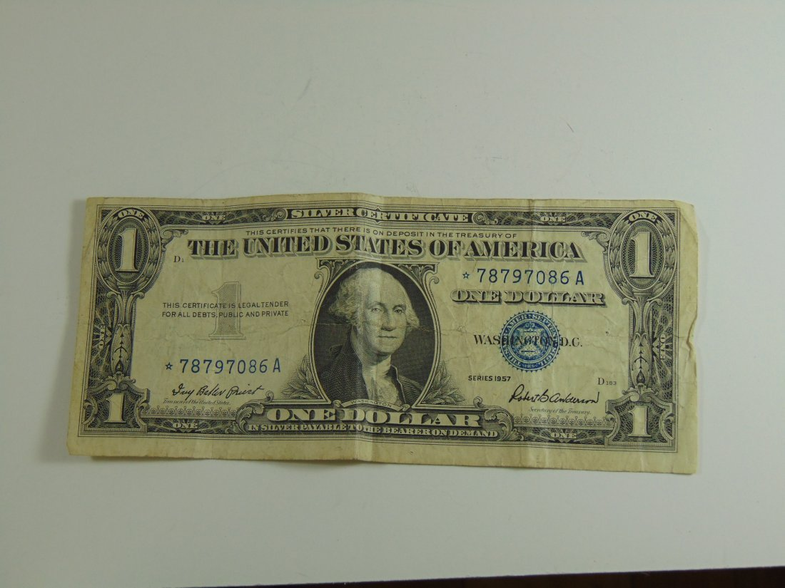 1957 Blue Seal Silver Certificate