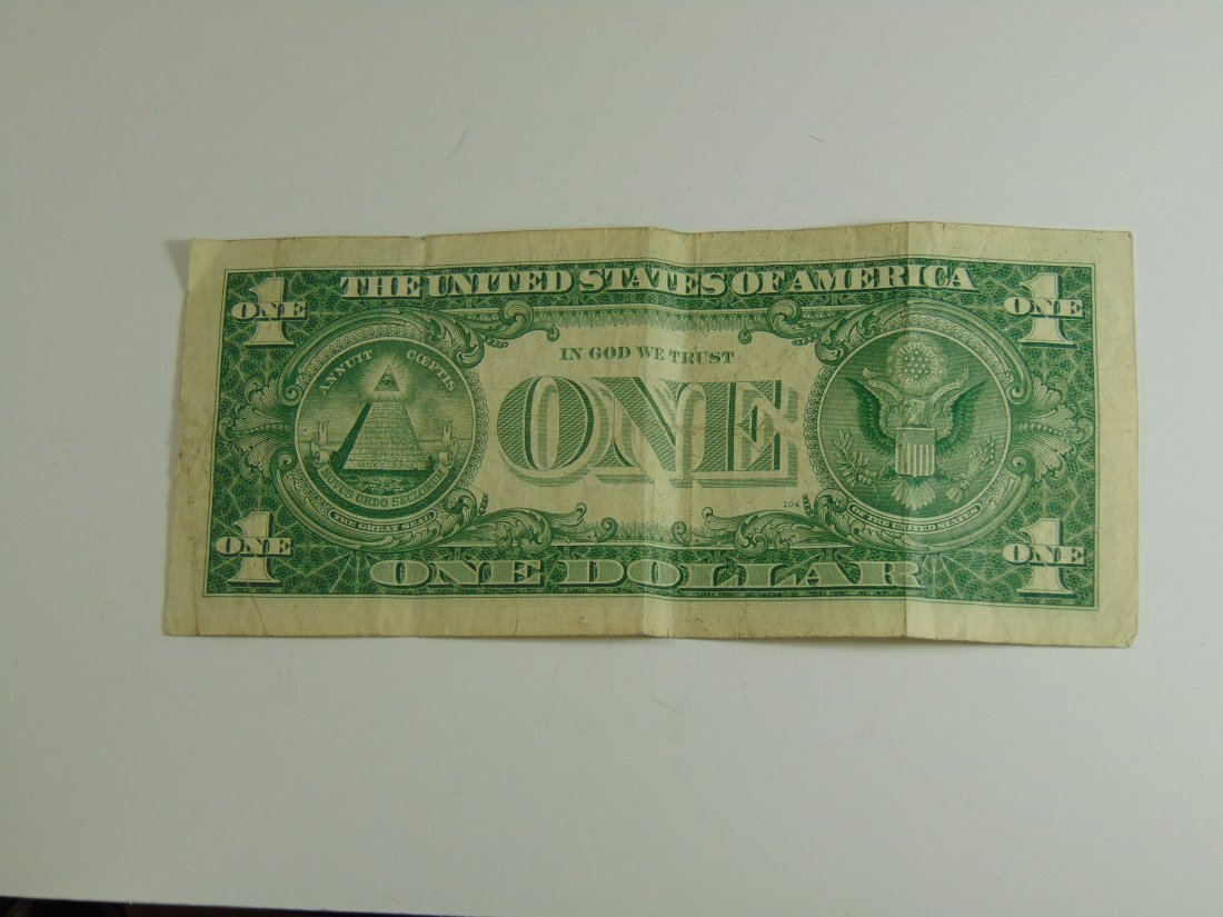 1957 Blue Seal Silver Certificate - 2