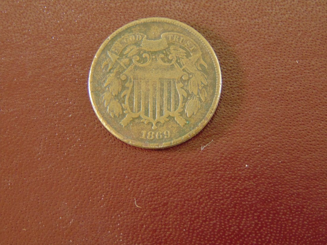 1869 Two Cent Piece