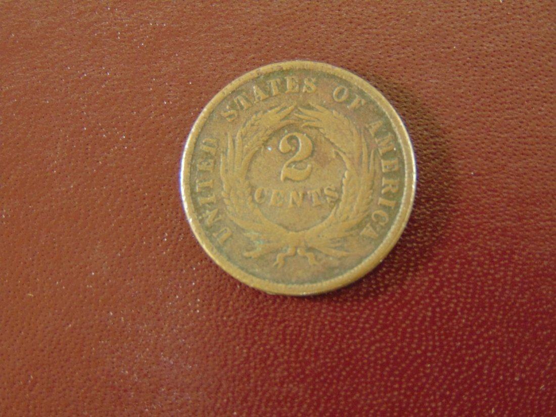 1869 Two Cent Piece - 2