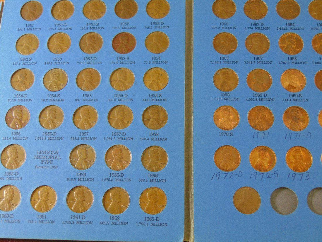 Lincoln Cent Full Book 1941-1973 - 2