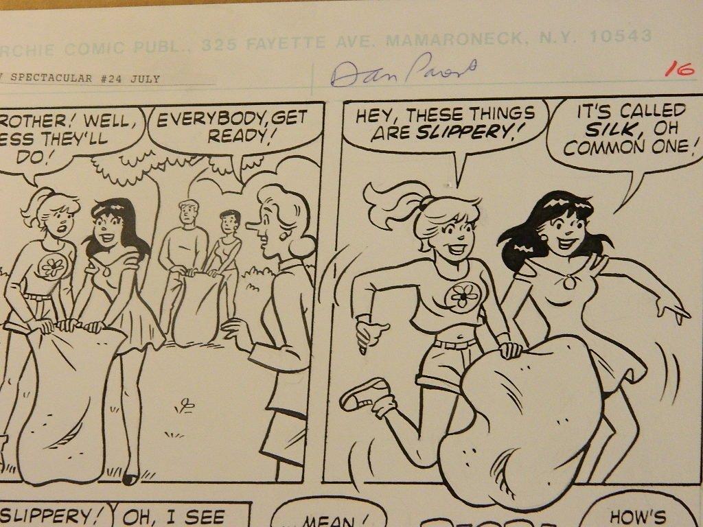 Dan Parent, Comic pg16