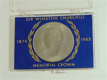 Sir Winston Churchill Memorial Crown 1965