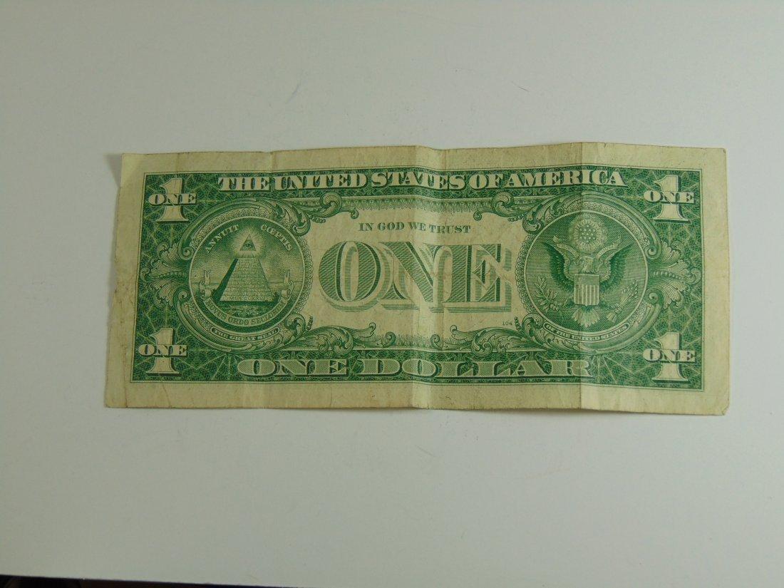 1957 Blue Seal Silver Certificate