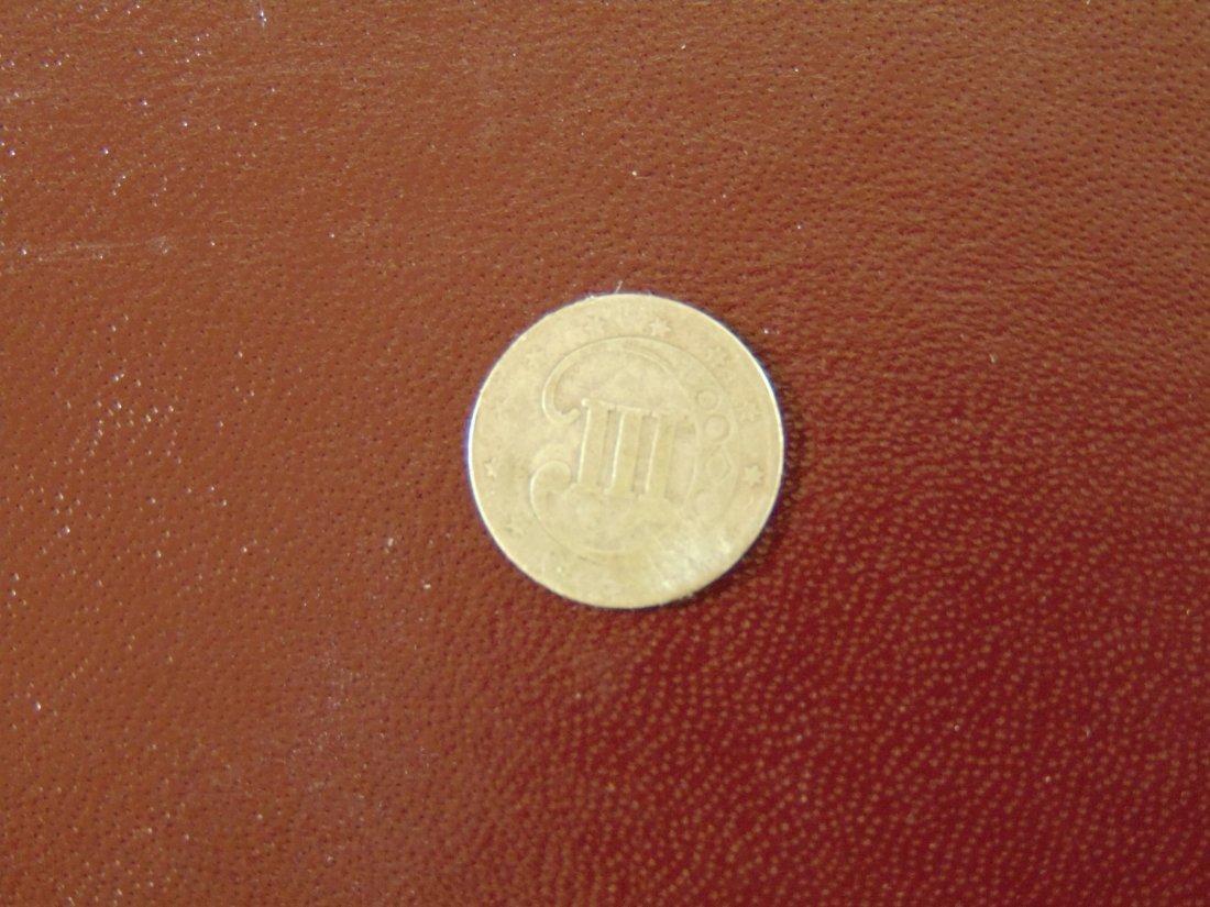 1851 3Cent Piece - 2
