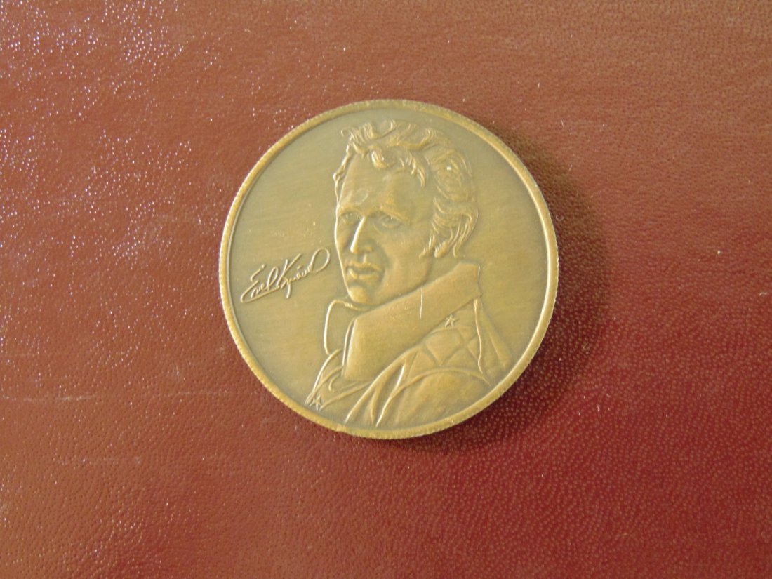 Evel Knievel Motorcycle Coin/Medallion