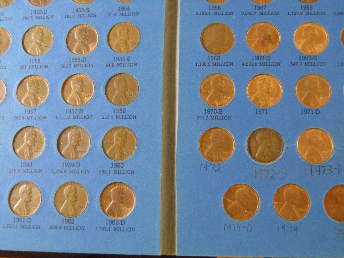 Lincoln Cent Full Book starting 1941, missing 1943D, - 2