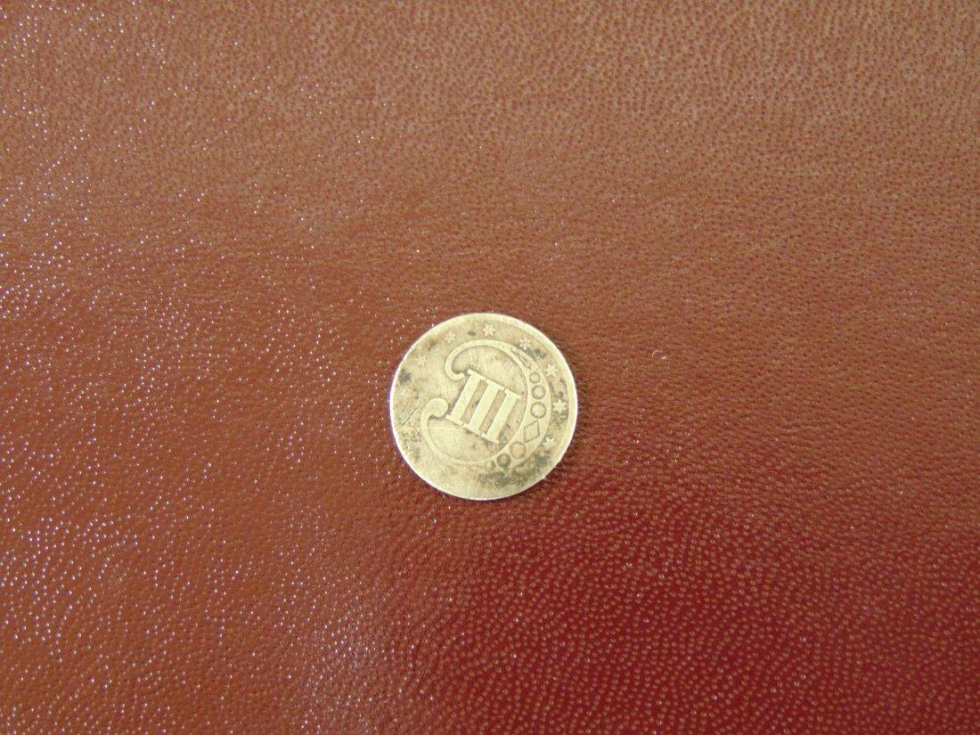 1852 Three Cent Piece