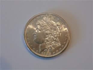 1881 S Morgan Silver Dollar MS