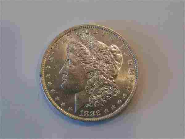 1882-O Morgan Silver Dollar MS Choice