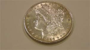 Morgan Silver Dollar 1896 MS+