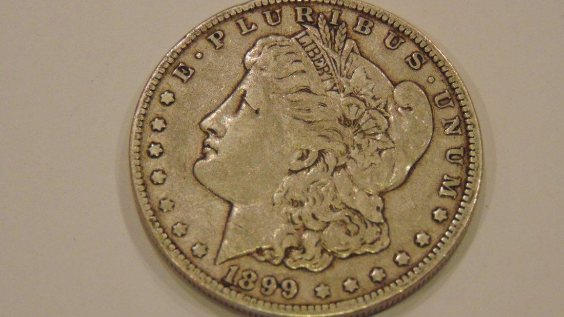 Morgan Silver Dollar 1899 O