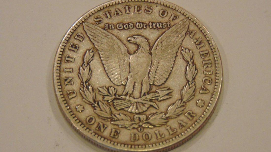Morgan Silver Dollar 1899 O - 2
