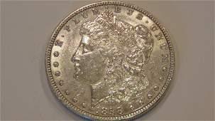 Morgan Silver Dollar 1898 MS