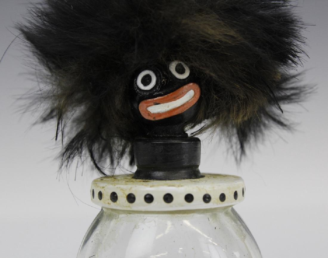 1920's Vigny Golliwogg Glass Perfume Sent Bottle w/ Box - 3