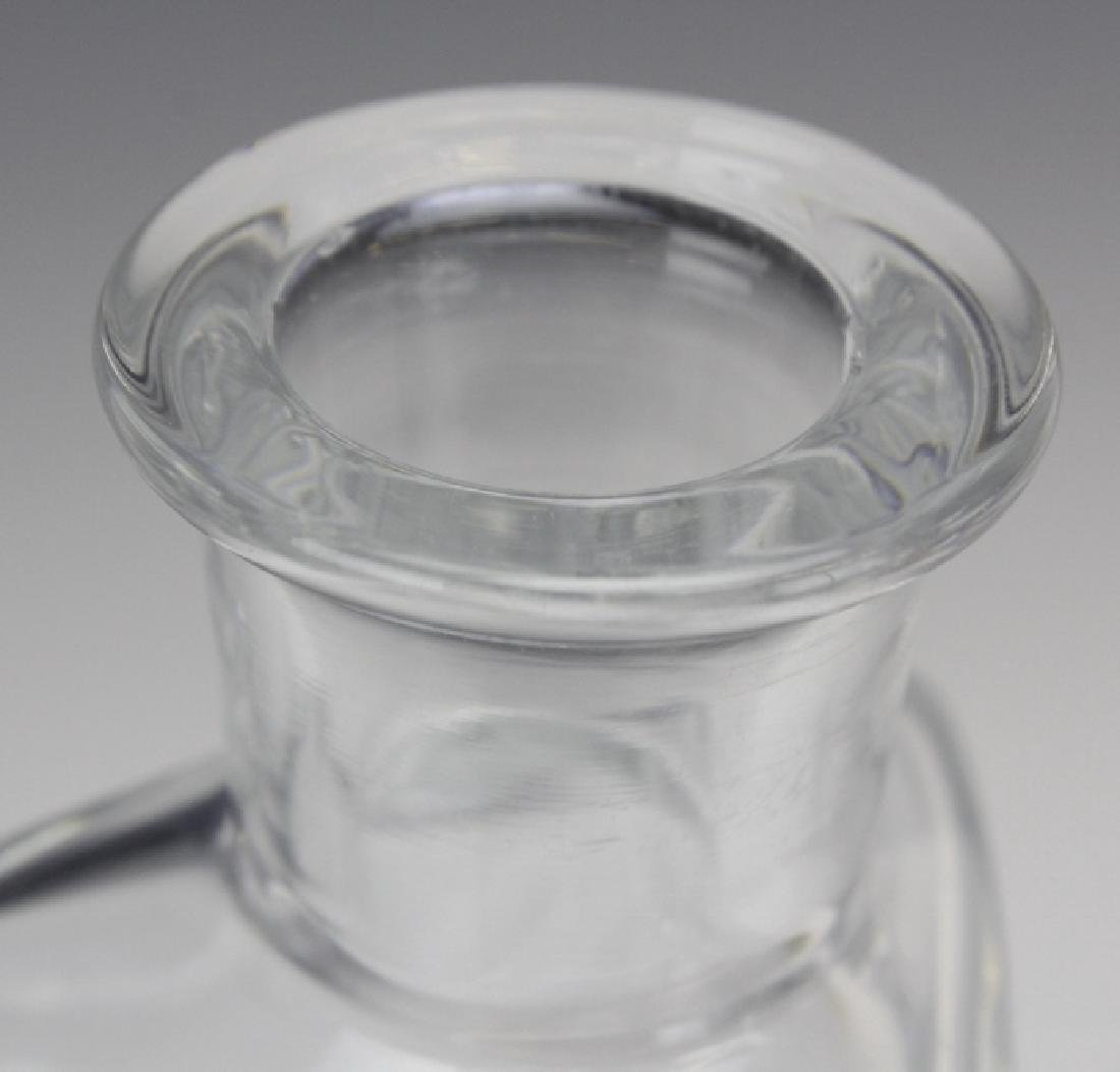 Signed Baccarat France Crystal Vosges Modern Decanter - 4