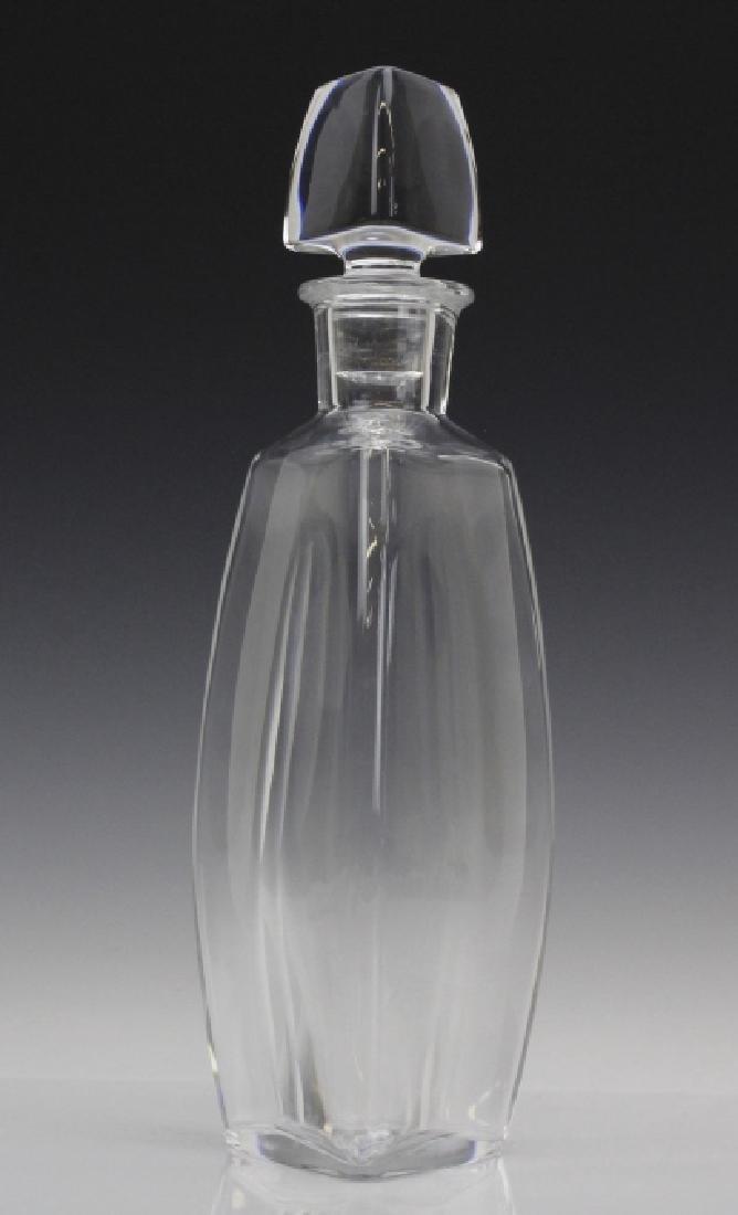 Signed Baccarat France Crystal Vosges Modern Decanter - 6