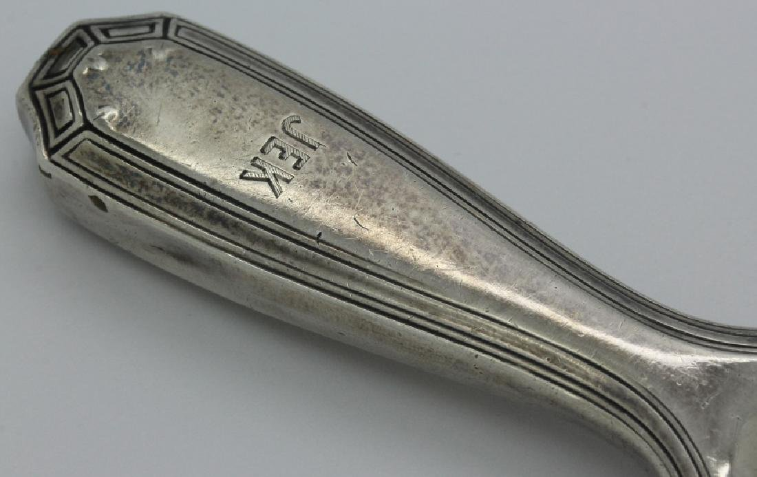 Signed Tiffany & Co. Sterling Silver Art Deco Shoehorn - 3