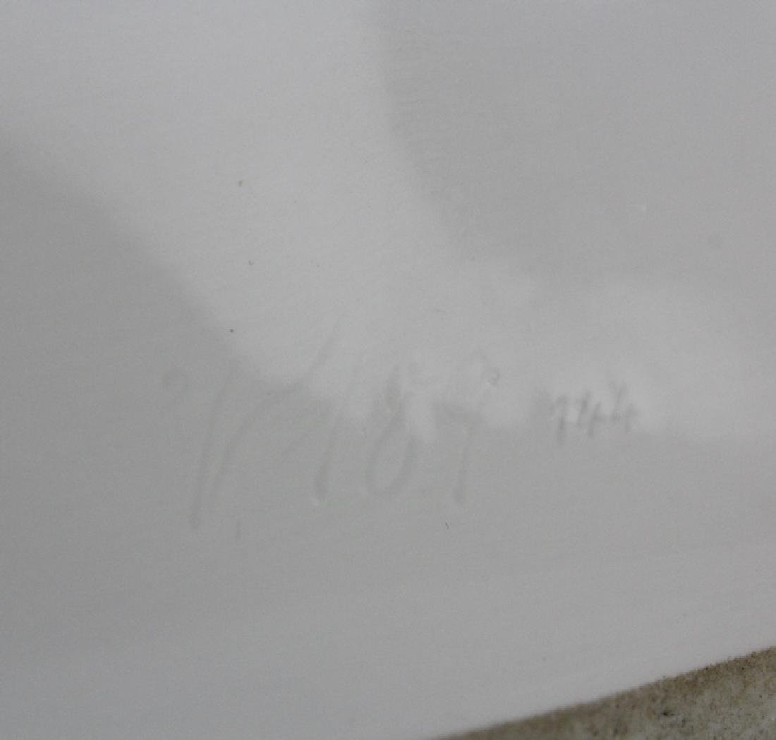 "Meissen Germany Wild Snow Fox 9"" Porcelain Figurine - 5"