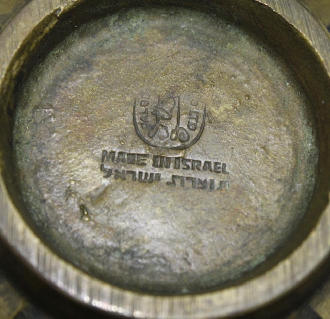 Maurice Ascalon Modern Pal Bell Bronze Verdigris Bowl - 3