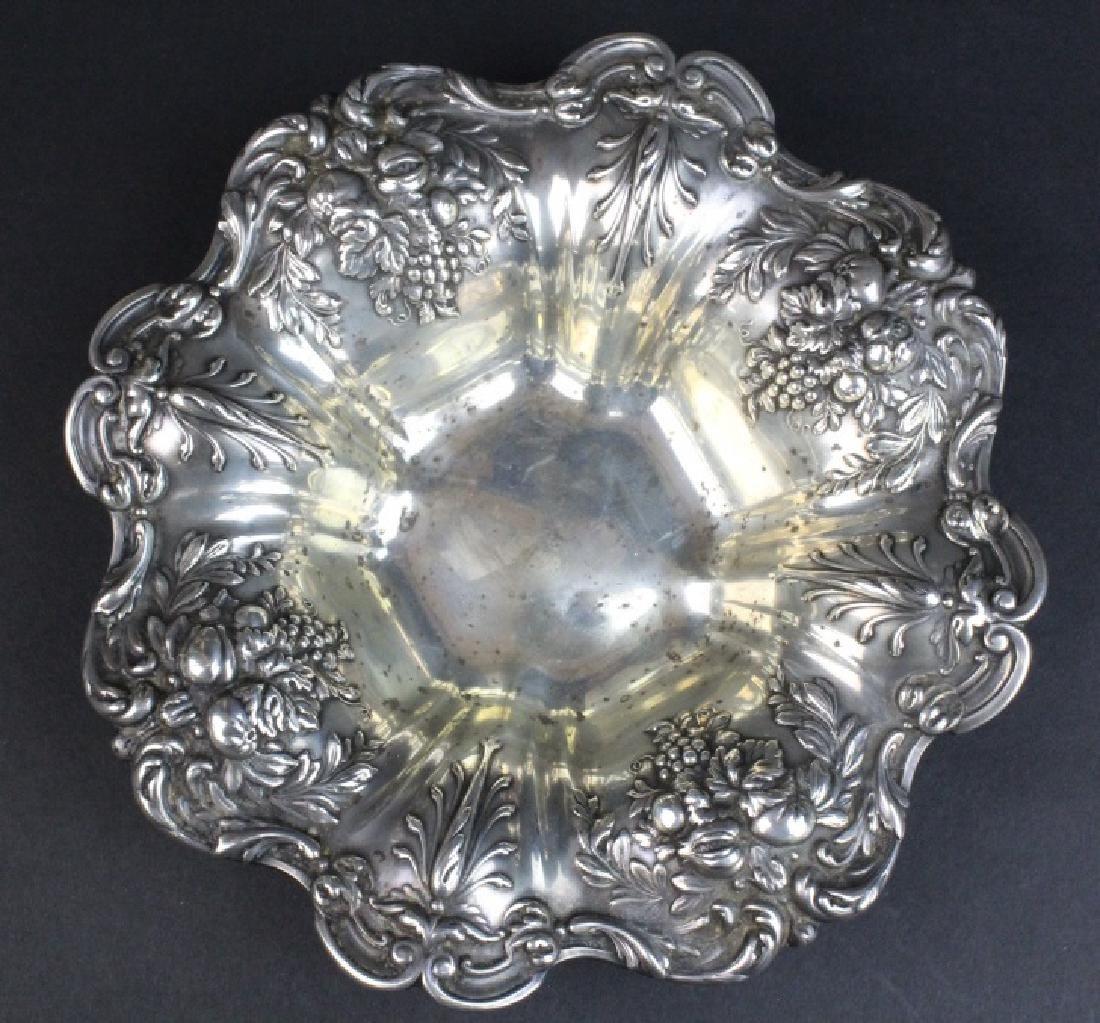Reed Barton Francis I Sterling Silver Ornate Bowl 288g
