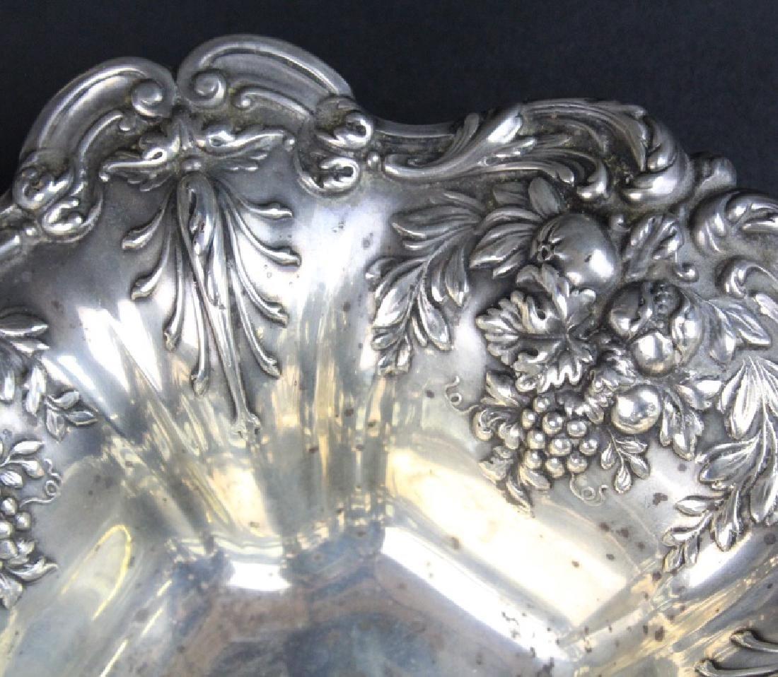 Reed Barton Francis I Sterling Silver Ornate Bowl 288g - 2